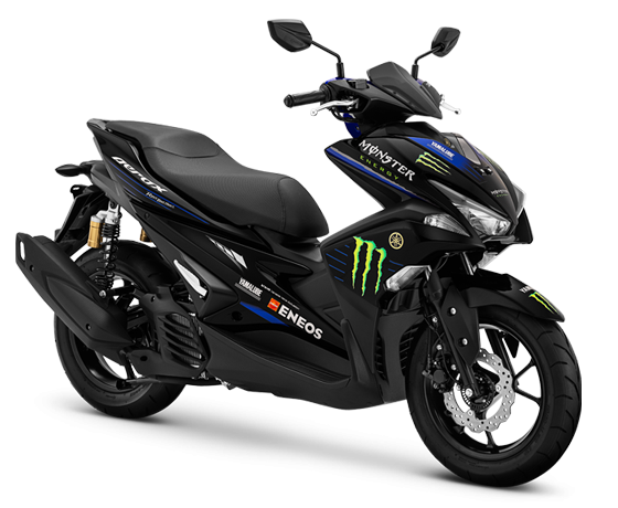 Aerox 155VVA R-Version Monster Energy Yamaha MOTOGP Edition.