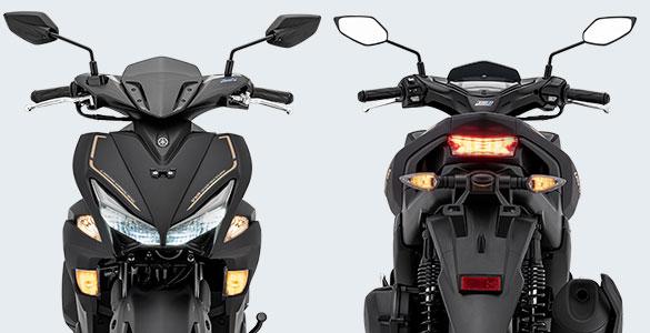 Sporty LED Headlight & Tail