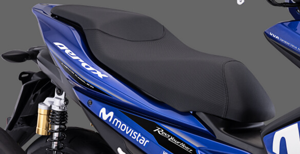 New Sporty Seat Design