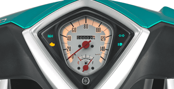 New Speedometer Design With Eco Indicator