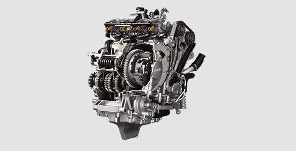 High-compression Cylinder Head and Lightweight Engine