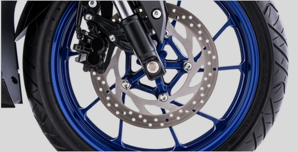WIDE DIAMETER FRONT DISC BRAKE