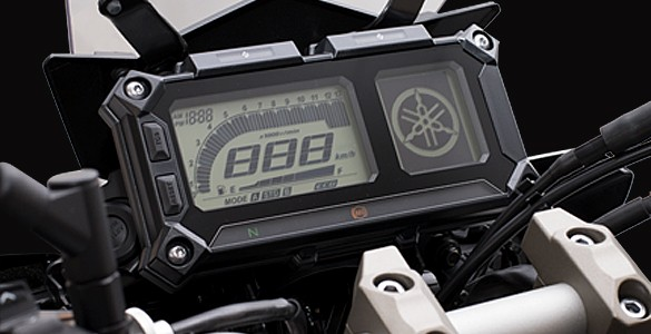 Multifunction dot matrix instrument panel & Switchable Traction Control System (TCS)